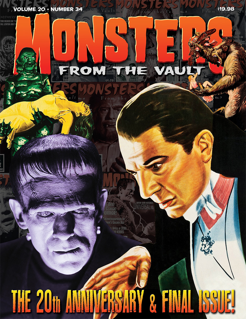 MONSTERS FROM THE VAULT  #27  NM